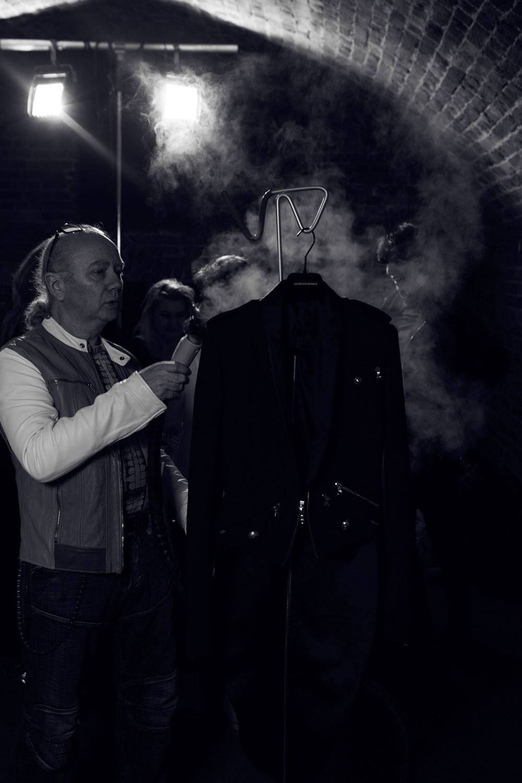 Julien MacDonald Autumn Winter 2016 Backstage